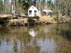 Land with cabin for sale